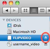 Eject Flip Cam