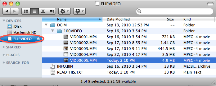 File Listing