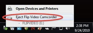 Eject Flip Cam - Step 2