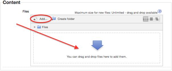 Add Folder Content