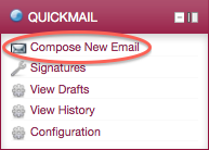 Quickmail Block - Compose