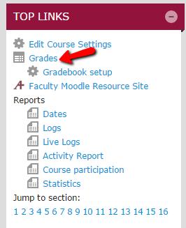 "Select ""Grades"""