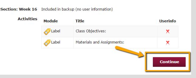 """Click """"Continue"""""""