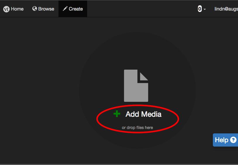 "Click ""Add Media"""