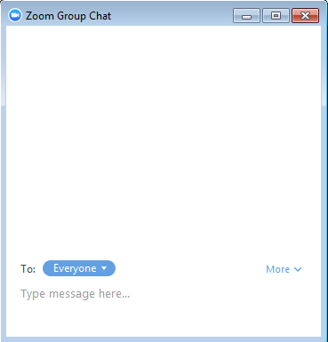 "separate window showing group chat where Sailor says ""Hello Everyone"""